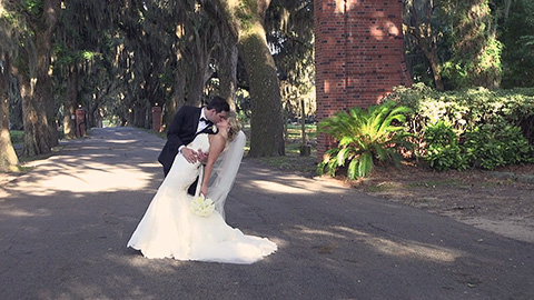 You'll laugh, you'll cry at this classic Savannah wedding and reception