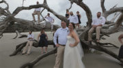 Driftwood beach wedding on Jekyll Island